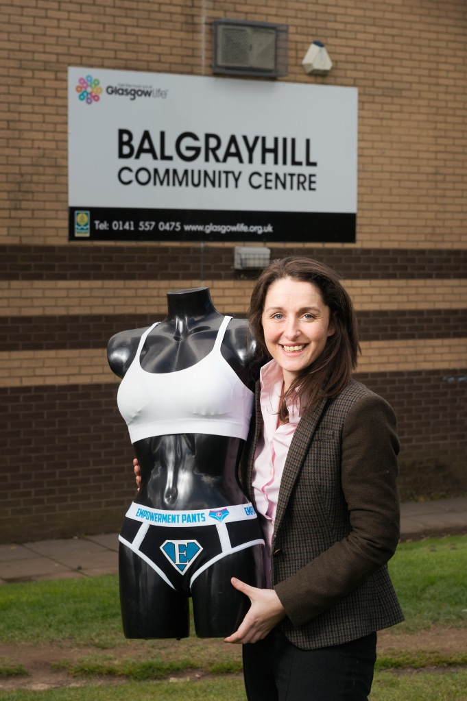 Women's Enterprise Scotland (WES). Sylvia Douglas of MsMissMrs. Pictured at Balgrayhill Community Centre. Pic free for first use relating to WES. © Malcolm Cochrane Photography +44 (0)7971 835 065 mail@malcolmcochrane.co.uk No syndication No reproduction without permission